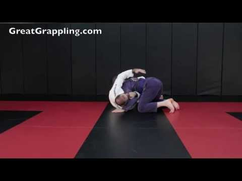 Side Control Reversal with Cross Face